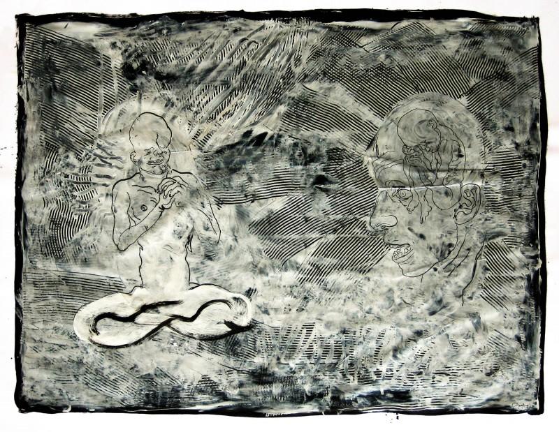 Dessin #2 150x195cm 2007 Carl Krull