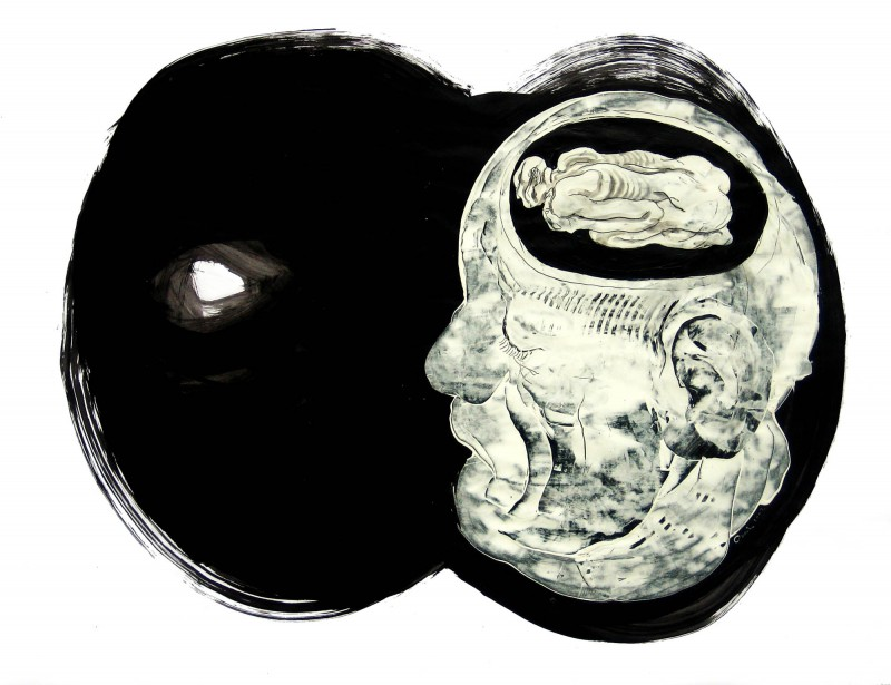 Dessin #5 79x104cm 2007 Carl Krull