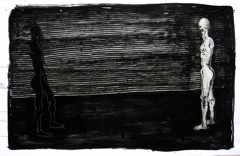 Dessin #6 72x110cm 2007 Carl Krull