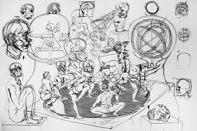 Drawing_2_65x100cm_2006_Carl_Krull