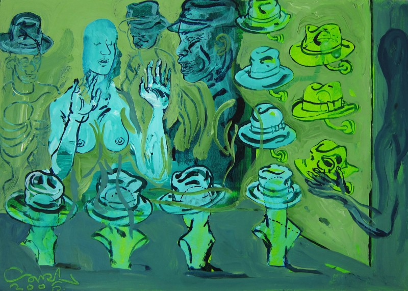 Hat_Shop_30x42cm_2006_Carl_Krull
