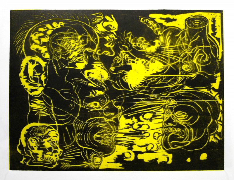Japan_graphic_Carl_Krull_Wood-3-black-yellow-22x30cm