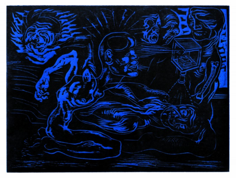 Japan_graphic_Carl_Krull_Wood-4-blue-black-22x30cm